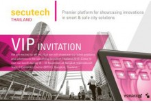 Secutech Thailand From Nov 16th-18th