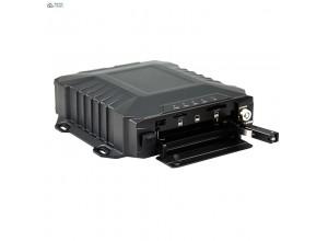 6CH 1080P 3G 4G WIFI GPS G-Sensor HDD Vehicle MDVR Built-in ADAS & DSM with CE FCC ROHS