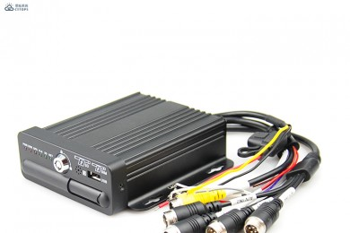 CMSV6 3G H.264 AHD MDVR 4G for vehicles with professional recording interface