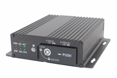AHD 4CH High-end Dual SD Card Mobile DVR M12H