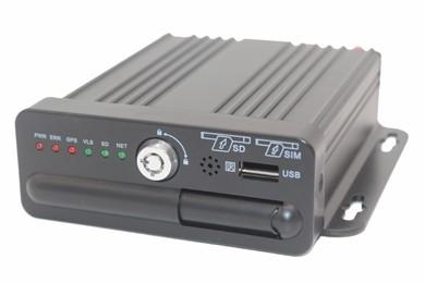 4CH HD Mini SD Card Mobile DVR M10H